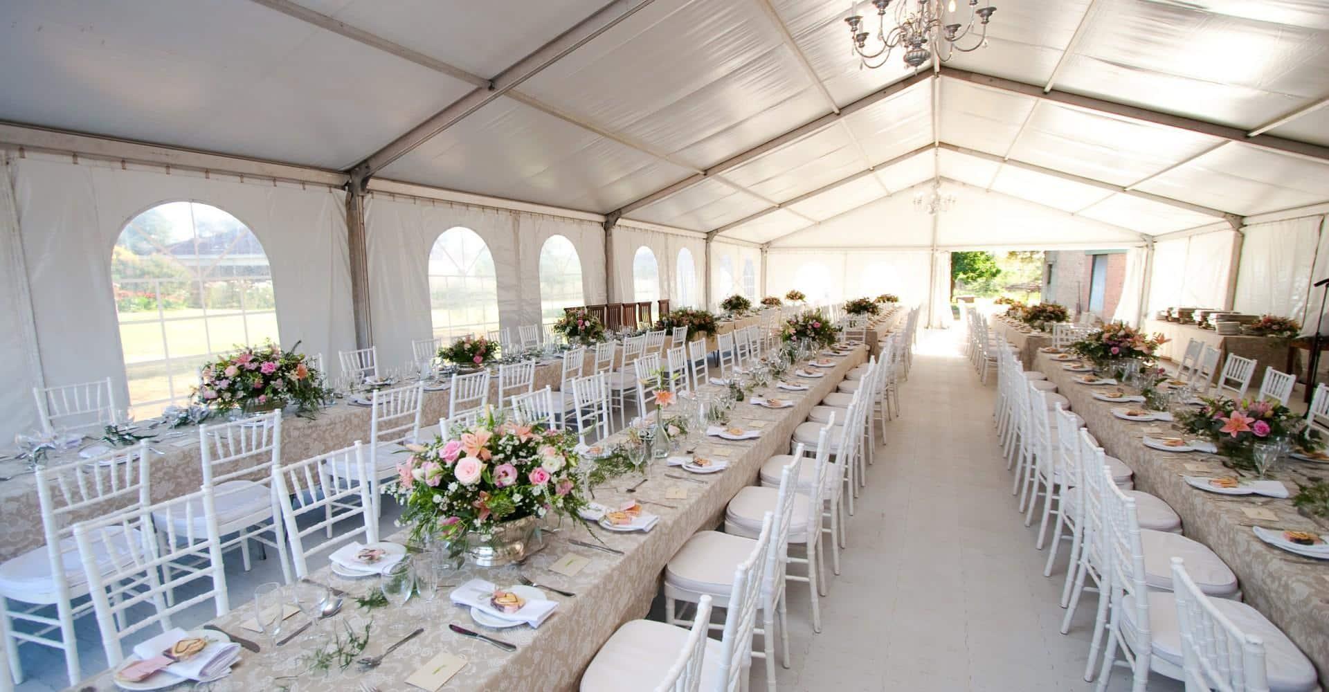 louer une tente pour un mariage