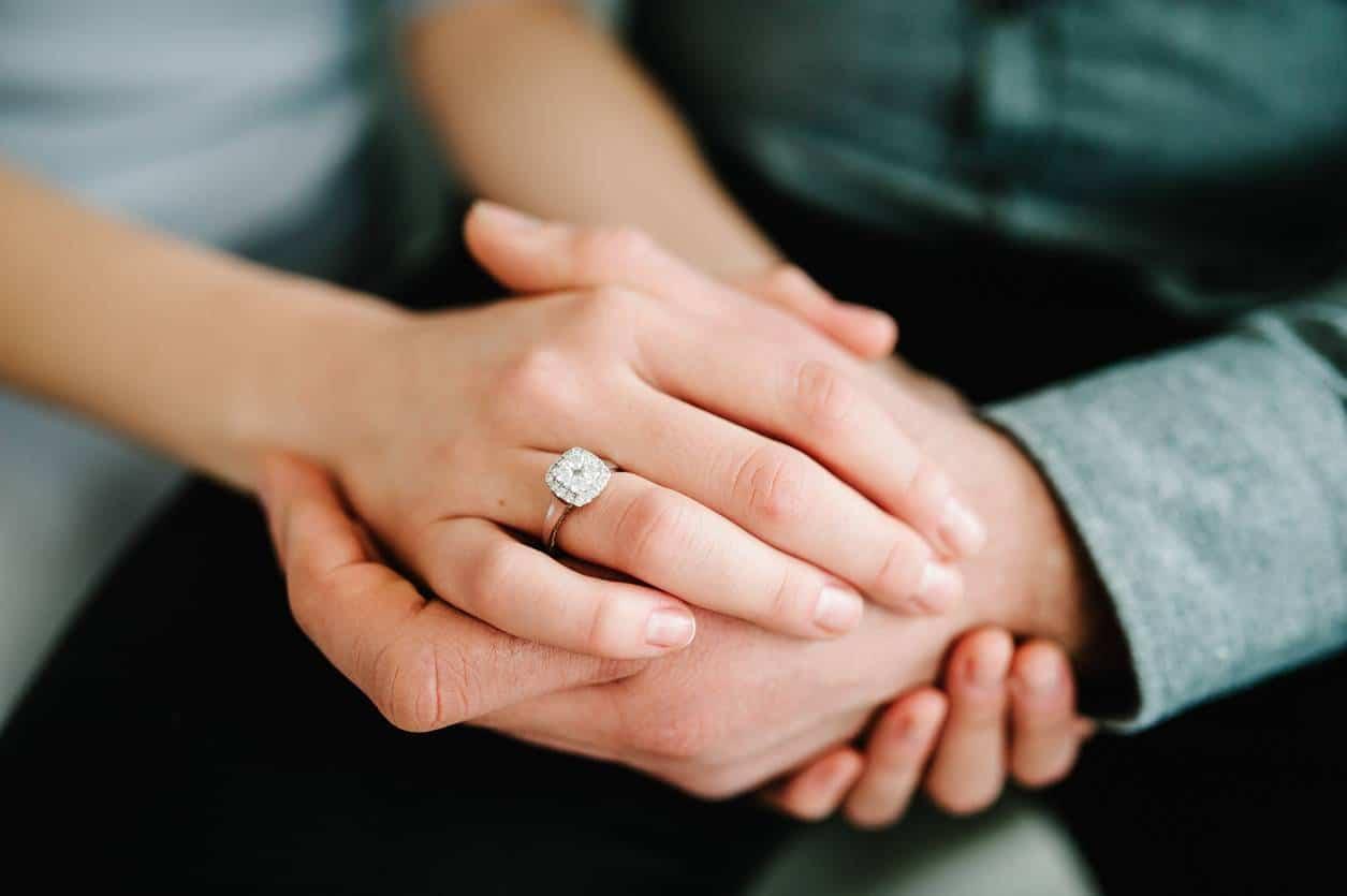 bijou éthique de mariage