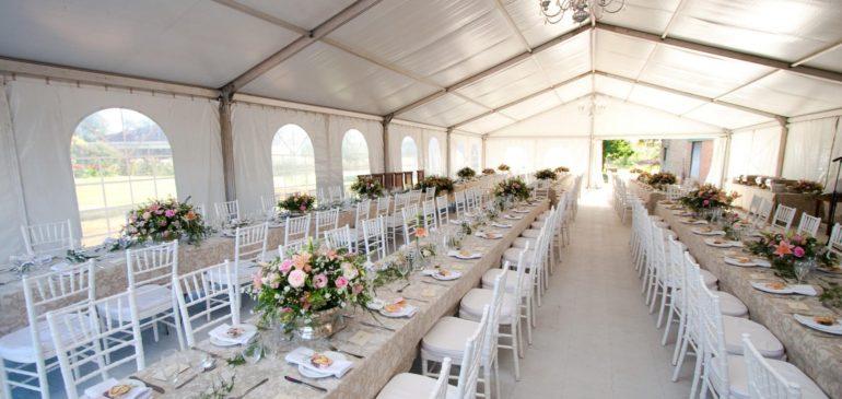 Pourquoi louer une tente ou un chapiteau pour votre mariage ?