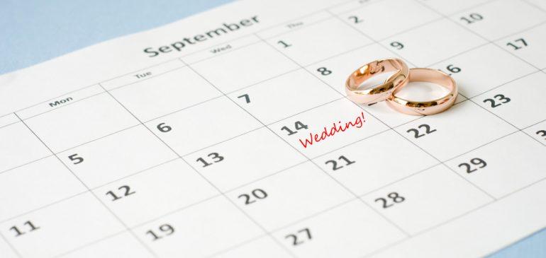 Mariage Heureux, Comment Choisir la Date Idéale !