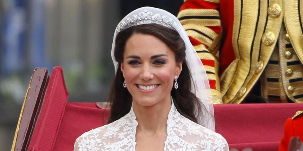 Kate Middleton paré de bijou le jour de son mariage