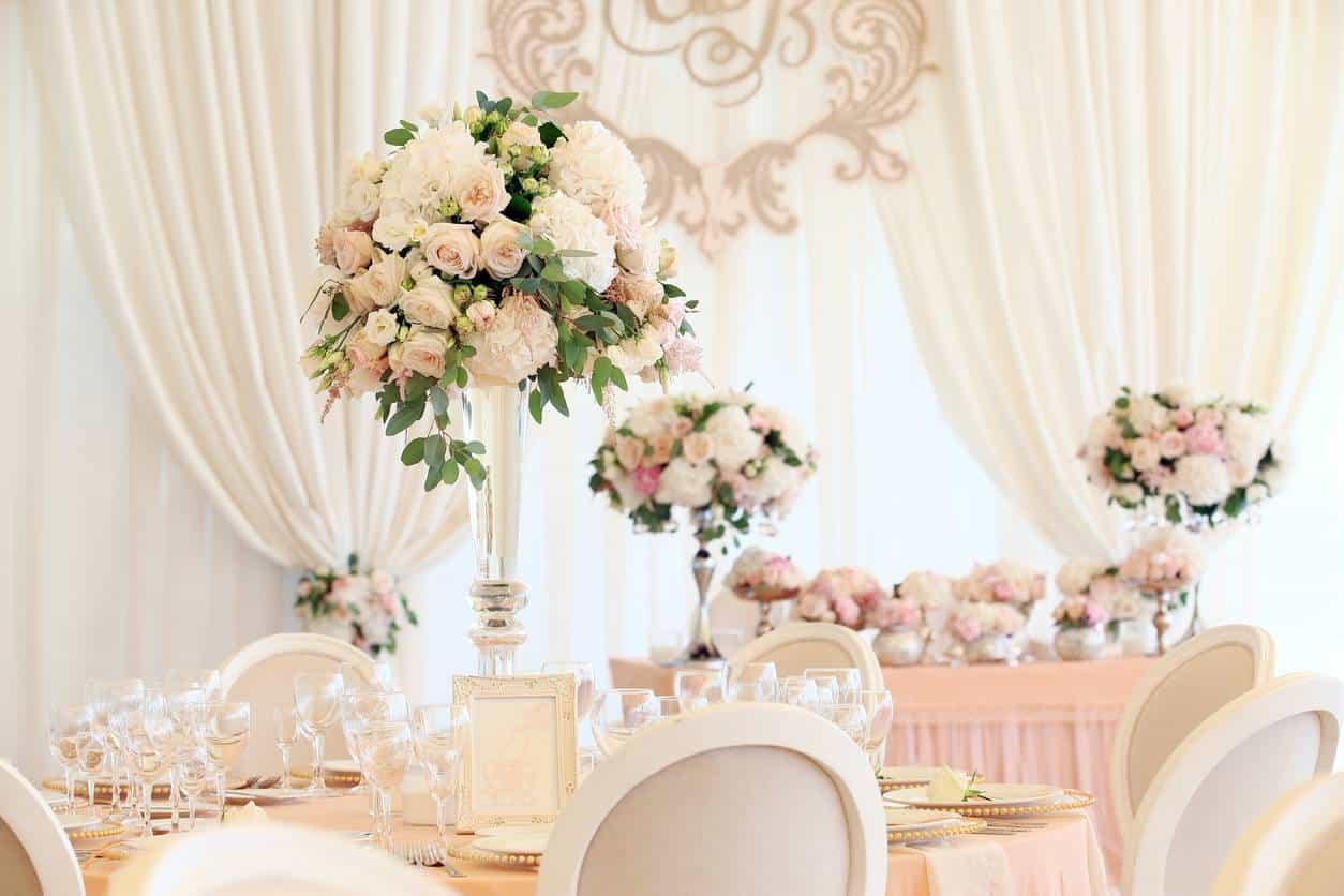 décoration mariage romantique
